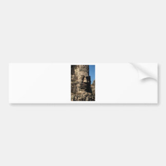 Face on Bayon Temple in Angkor, Cambodia Bumper Sticker