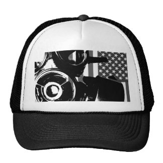 FACE PALM Retro Gas Mask Trucker Cap / Hat 2
