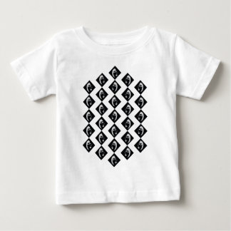 Face pattern baby T-Shirt