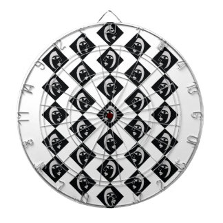 Face pattern dartboard