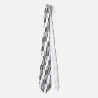 Face pattern tie