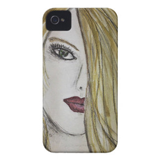 Face Sketch Case-Mate iPhone 4 Case