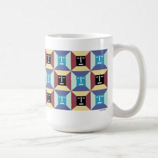Face Squares 5 Coffee Mug