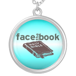 Face The Book Necklace
