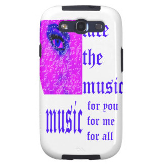 Face The Music Modern Samsung Galaxy SIII Cover