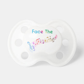 Face The Music Pacifiers