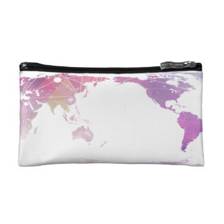 """""""Face the World"""" Makeup Bag"""