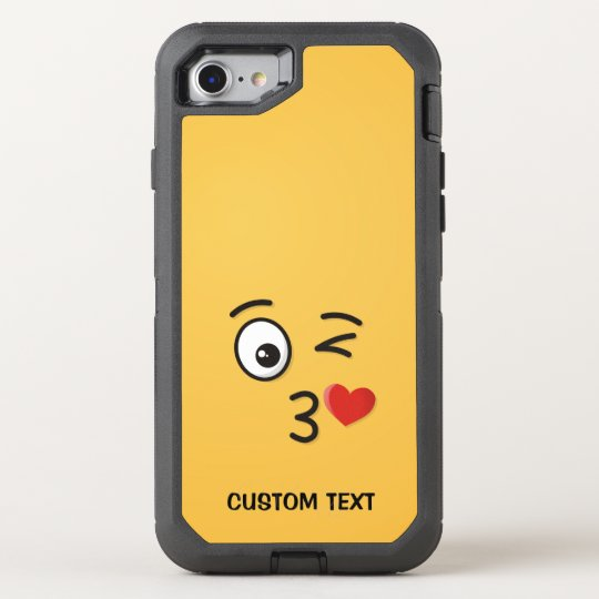 Face Throwing a Kiss OtterBox Defender iPhone 8/7 Case