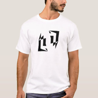 Face to Face Geometric T-Shirt