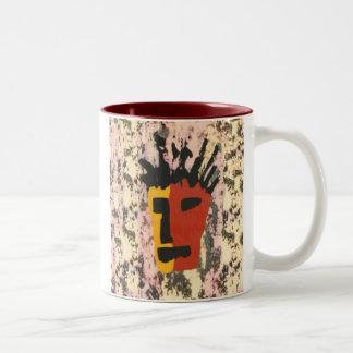 Face Two-Tone Coffee Mug