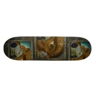 Face with mask - Cool Graffiti Skateboard