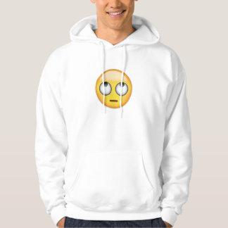 Face With Rolling Eyes Emoji Hoodie