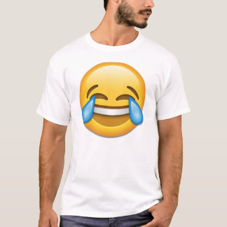 Face With Tears Of Joy emoji T-Shirt