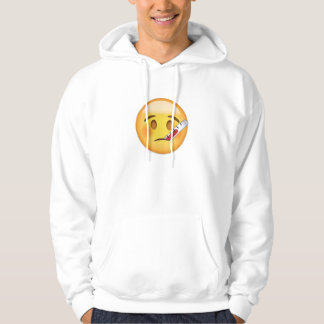 Face With Thermometer Emoji Hoodie