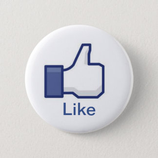 Facebook 2 Inch Round Button