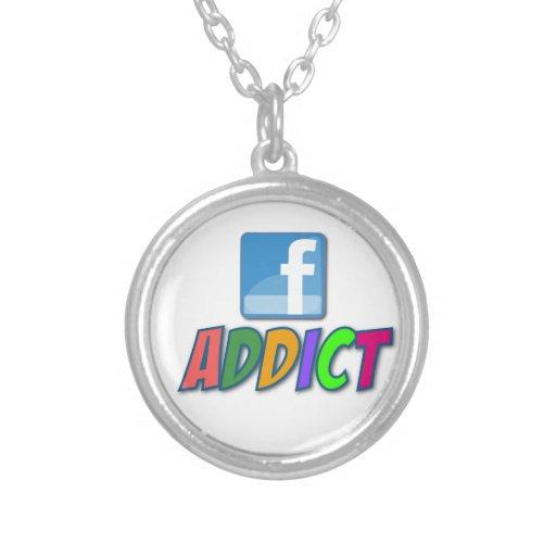 Facebook Addict Necklace