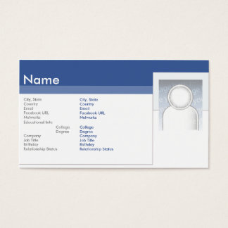 Facebook - Business Business Card