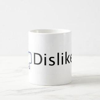 Facebook Dislike. Coffee Mug