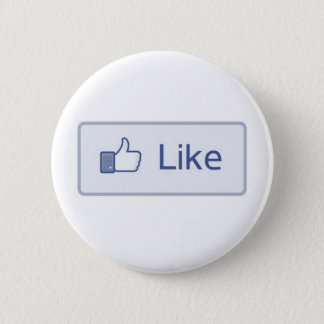 Facebook Like 2 Inch Round Button