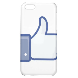 facebook LIKE me thumb up ! iPhone 5C Covers