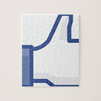 facebook LIKE me thumb up! Jigsaw Puzzle