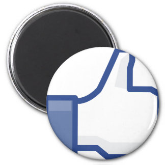 facebook LIKE me thumb up! Magnet