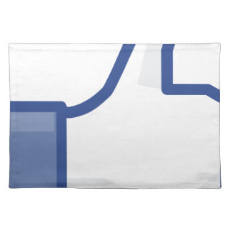 facebook LIKE me thumb up! Placemat