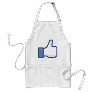 facebook LIKE me thumb up! Standard Apron