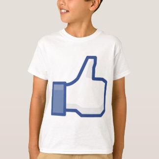 facebook LIKE me thumb up! T-Shirt