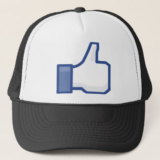 facebook LIKE me thumb up! Trucker Hat
