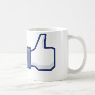 """Facebook """"Like"""" Mug"""