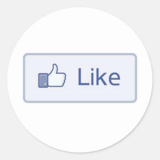 Facebook Like Sticker