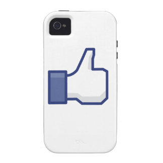 facebook LIKE thumb up Vibe iPhone 4 Cases