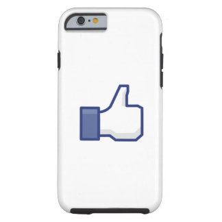 facebook LIKE thumb up iPhone 6 Case