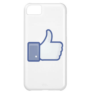 facebook LIKE thumb up icon graphic iPhone 5C Cover