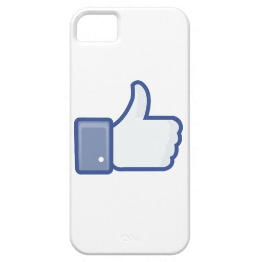 facebook LIKE thumb up icon graphic iPhone 5 Case