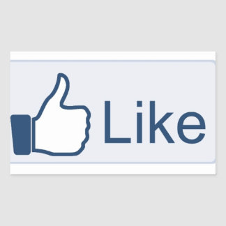 Facebook 'Liked' Sticker