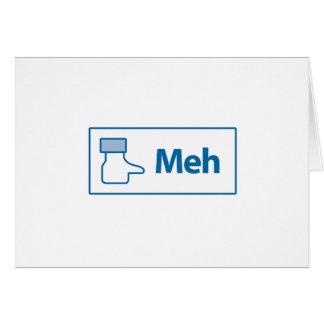 Facebook Meh Card