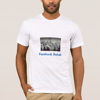 Facebook Rehab: T-Shirt (White)