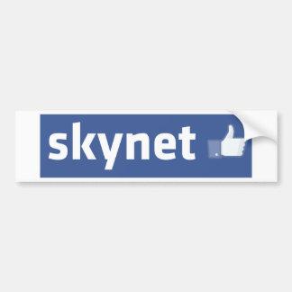Facebook - Skynet Bumper Sticker