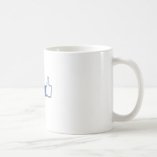Facebook Twitter Coffee Mug