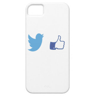 Facebook Twitter iPhone 5 Cover
