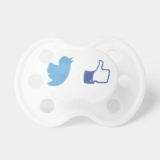 Facebook Twitter Pacifier