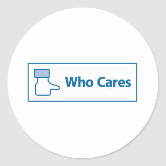 Facebook Who Cares Stickers