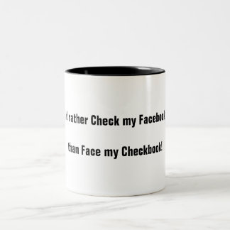 Facebooker Two-Tone Mug