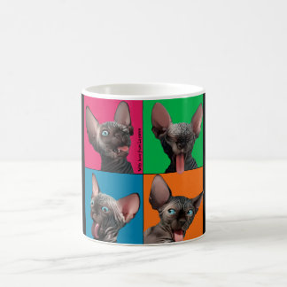 Facebuilding (Sphynx kitten) Coffee Mug