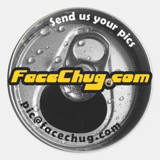FaceChug.com stickers