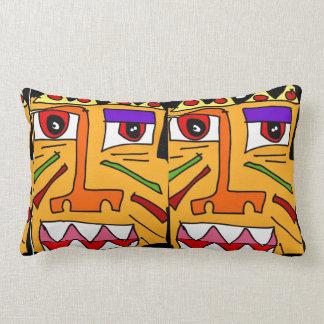 Faced Lumbar Pillow