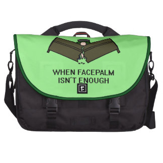 Facedesk Laptop Commuter Bag