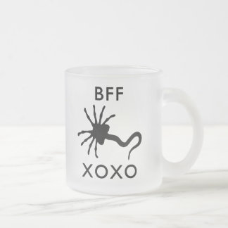 Facehugger - Best Friends Forever (BFF) Frosted Glass Coffee Mug